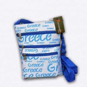 Greek-handbag-wallet purse tote-novelty-girft-ethnic-holiday-Summer-fun-B-