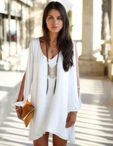 Women-Summer-Dress-2015-Sexy-V-Neck-Strapless-A-line-White-Chiffon-Dress-Loose-Tunic-Beach.jpg_640x640