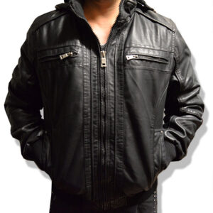 Male-jacket-leather-type-plain-D's-web S