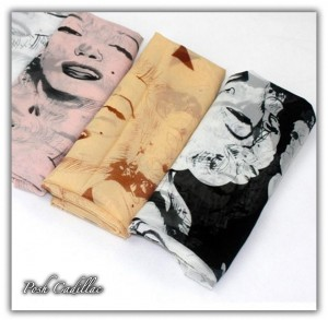 Black-&-white-Monroe-Scarf-text-Posh-Cadillac-web-B