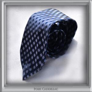 Checkered-Blue-jacquard-silk-handmade-Tie-main-txt-web-S