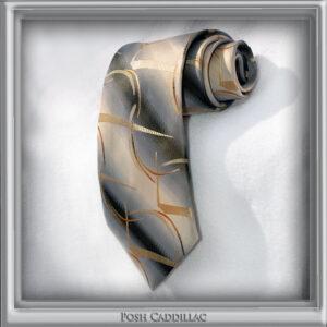 Creamy-gold-curves-on-grey-black-tie-posh-cadillac-main-txt-web-S