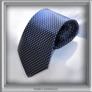 Jacquard-Handmade-tie-Royal-Blue-with-white-microcubes-Posh-Cadillac-main1-web-S