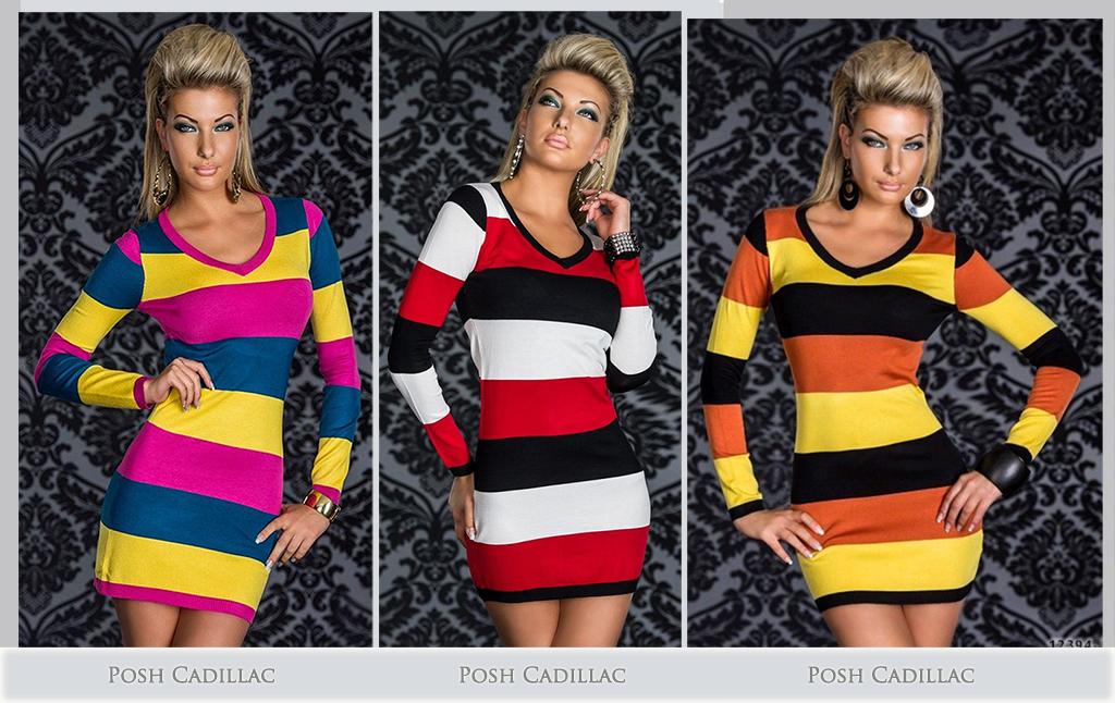 Multicolor-Mini-Longsleeve-fitted-dresss-Posh-Cadiilac-in-blue-main-below-txt-web