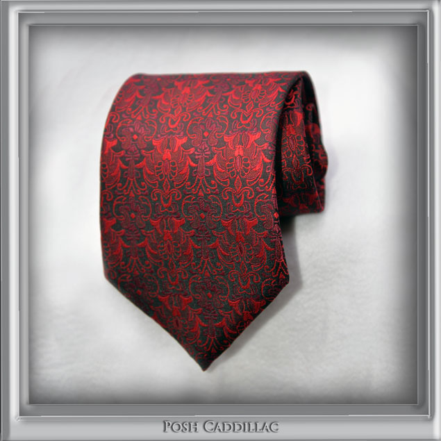 Red-black-Roman-Byzantine-Pattern-Style-Tie-Floral-below-main-web-S-