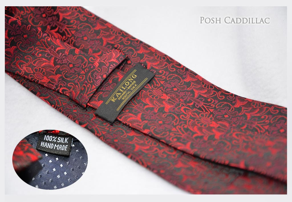Red-black-Roman-Byzantine-Pattern-Style-Tie-Floral-below-web-Txt-