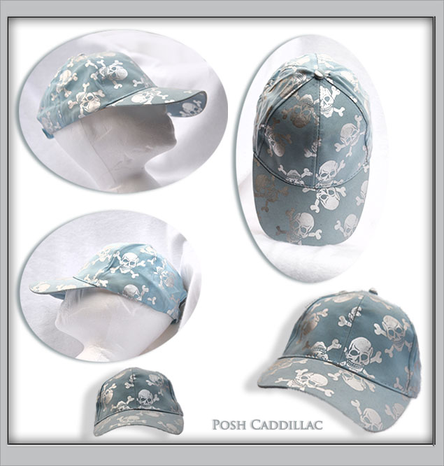 aqua-&-silver-scull-cap-all-web-S