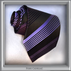 _Black-Purple-shades-Lilac--Striped-Tie-Jacquard-Handmade-Silk-Posh-Cadillac-slider-Web-S