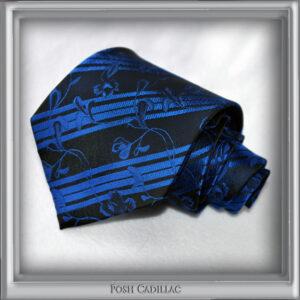 Black-and-blue-Tie-Handmade-Jacqurd-Silk-Tie-slider-web