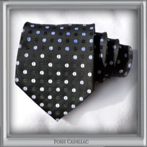 Black-tie-White-Stylish-dots-Stripes-Handmade-Silk-Posh-Cadillac-txt2-web-S