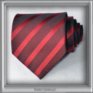 Red-and-Black-Striped-Tie-Jacquard-Silk-Handmade-txt1-web-S
