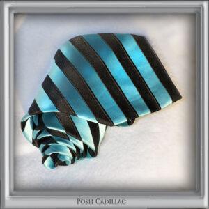 Turquoise-and-Black-Striped-Tie-Jacquard-Handmade-Silk-Posh-Cadillac-txt-web-S