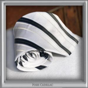 White-Jacquard-Silk-Tie-Black-Stipes-Posh-Cadillac-txt-web-S