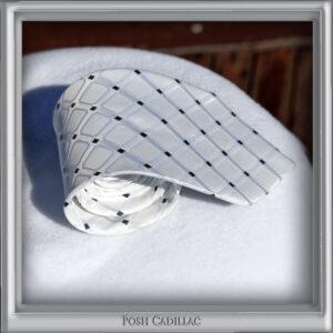 White-Tie-with-squares-and-Microcube-Design-Black-Jacquard-Handmade-Silk-Posh-Cadillac-txt-web-S