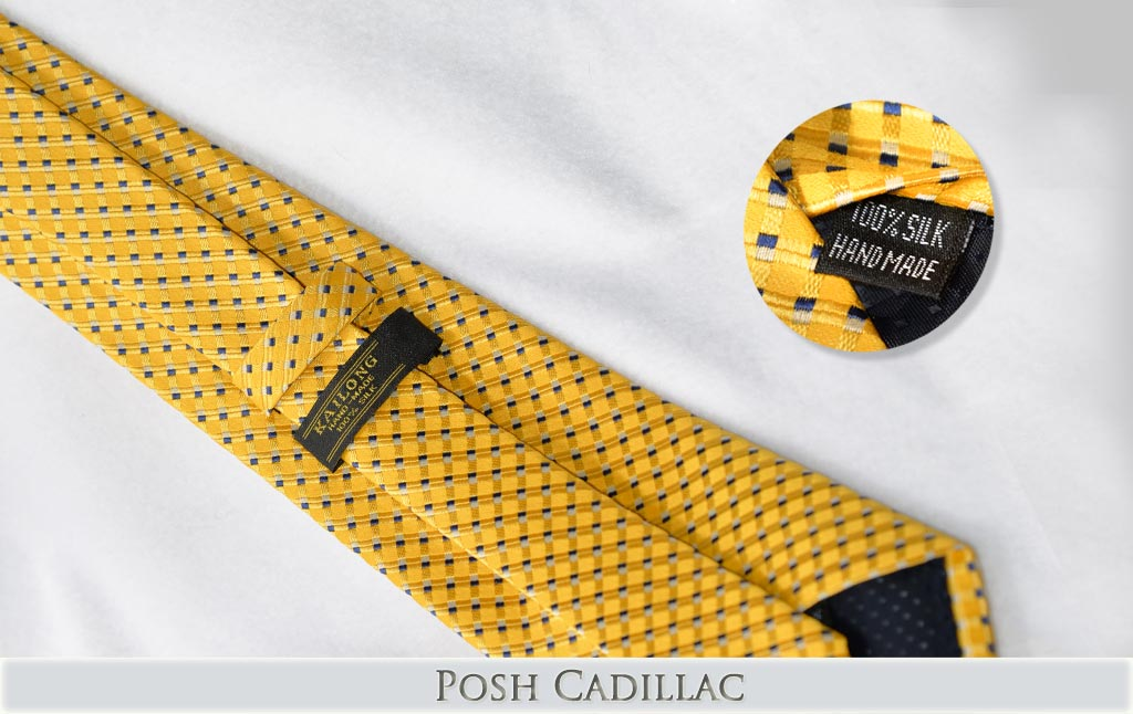 Yellow-tie-white-stripes-and-microcube-black-squares-Handmade-Jacquard-Silk-txt-web
