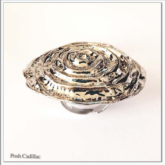 Ancient-Green-roman-inspired-design-silver-round-bib-ring-side-view-web-S