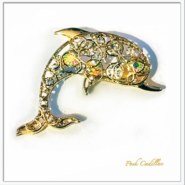 Golden-brooch-with-crystal-bubble-color-rhinestone-pin-web-S