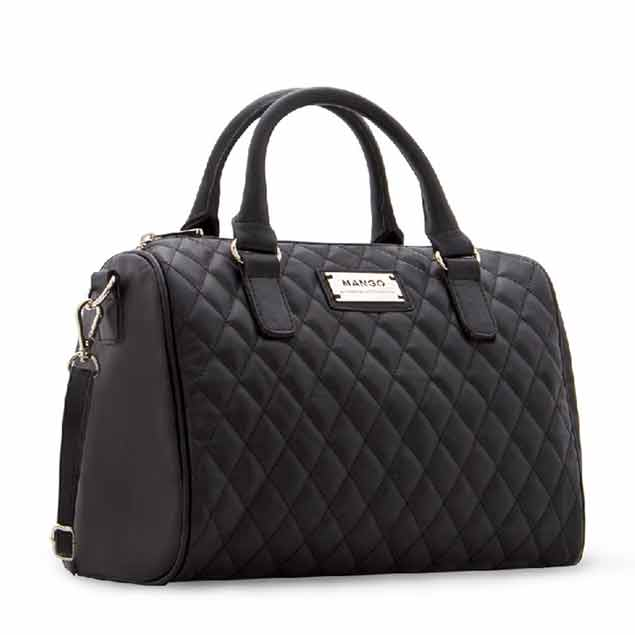 Black-Capitone-Faux-leather-quilted-bag-with-optional-Main-side-posh-cadillac-WEB-S