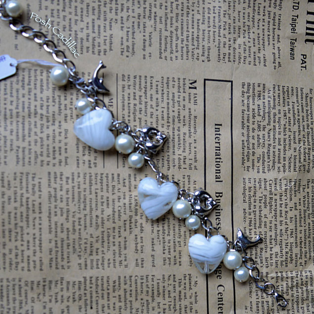Unique-handmade-white-murano-hearts-with-silver-dolphins-adjustable-chain-Posh-Cadillac-zoom-web-S