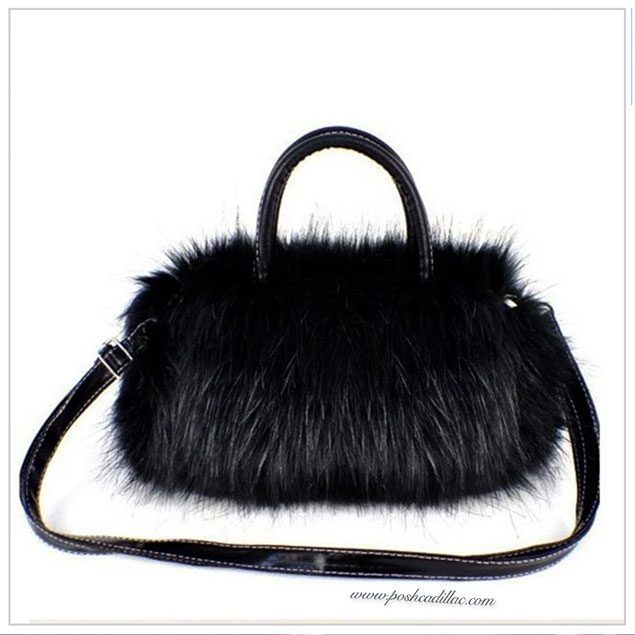 black-faux-rabbit-bag-with-optional-adjustable-length-with-strap-posh-cadillac-web-s