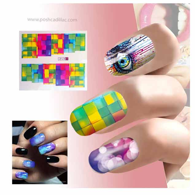Best Full Nail Design 2018 Collection Tattoo Art Stickers Decals ...