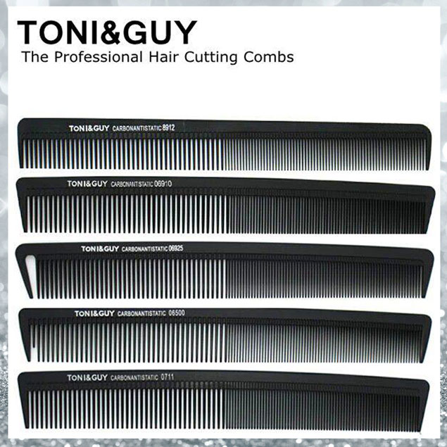 Tony & Guy Pro Hairdressing Comb Slim Comb Puffing Hair Seperator Teaser  Volumiser